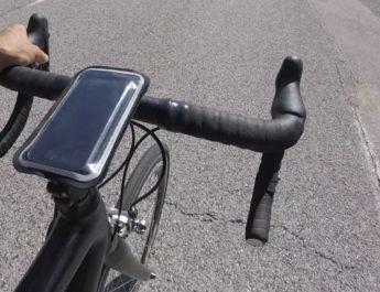 Test du support vélo pour smartphone Shapeheart