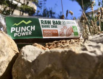 Test des barres énergétiques Punch Power Raw Bar