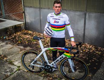 Le nouveau Trek Madone du champion du monde Mads Pedersen