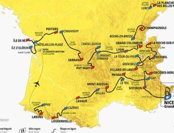 TOUR DE FRANCE 2020 : le parcours