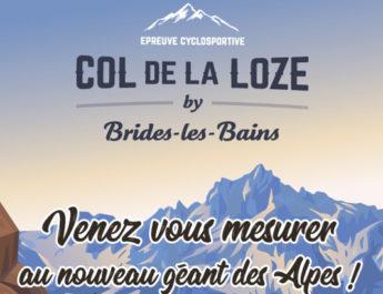 CYCLOSPORT – 1re édition du col de la Loze by Brides-les-Bains le 13 septembre 2020